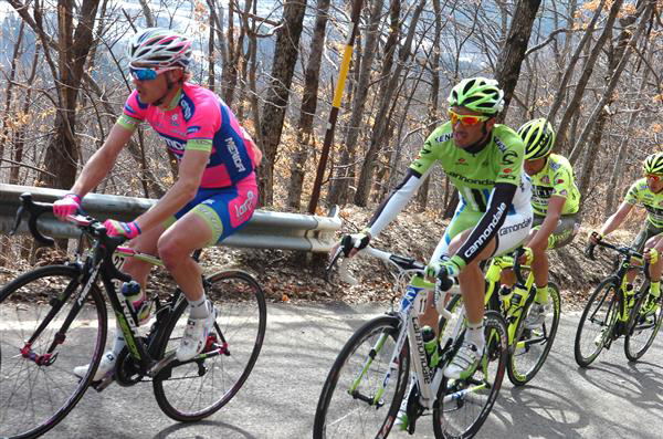 Damiano cunego and Ivan Basso
