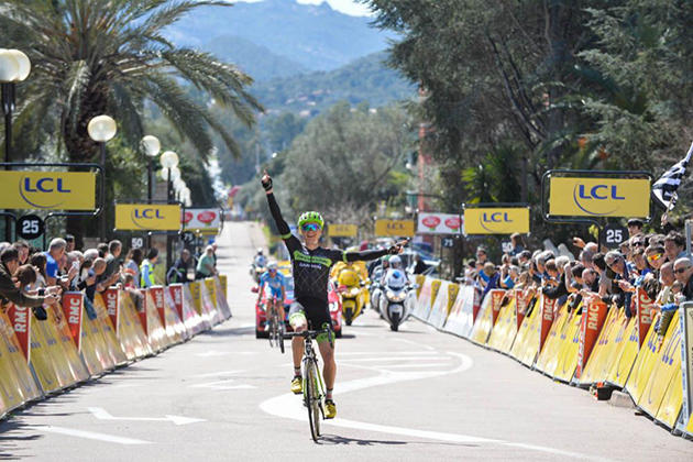 Ben King wins stage 1
