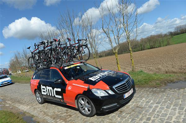 BMC team car