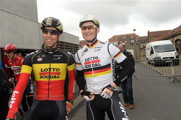 Jens Debuschere and Andre Greipel