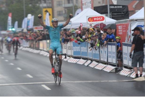 Lars Boom wins Tour of Denmark stage 1