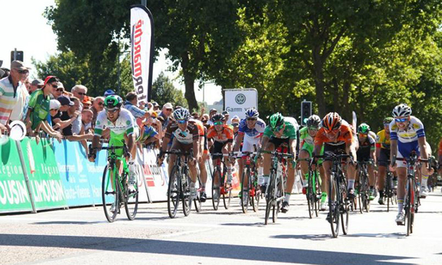 Maurits Lammertink wins Limousin stage 4