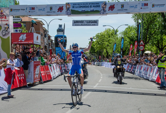 Evgeny Shalunov wins Madrid stage 1