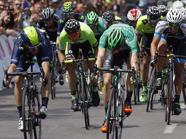 Carlos Barbero wins Madrid Vuelta stage 2