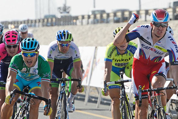 Tour of Oman Stage 3 finish