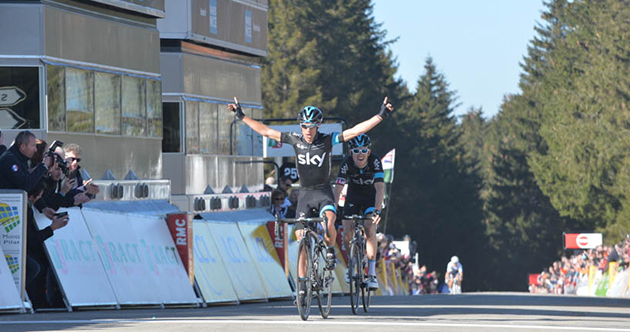 Richie Porte wins stage 4