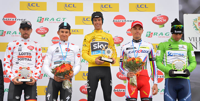 2015 Paris-Nice final podium
