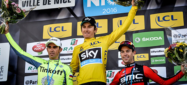 Paris-Nice podium