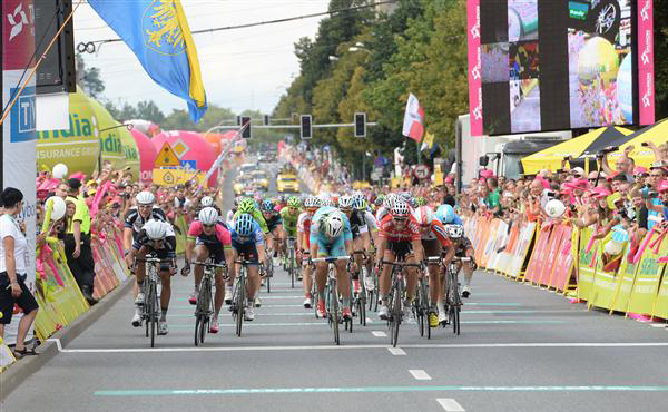 Jonas Van Genechten wins 2014 Tour of Poland Stage 4