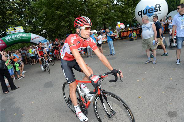 Maxime Monfort at this year's Tour of Poland