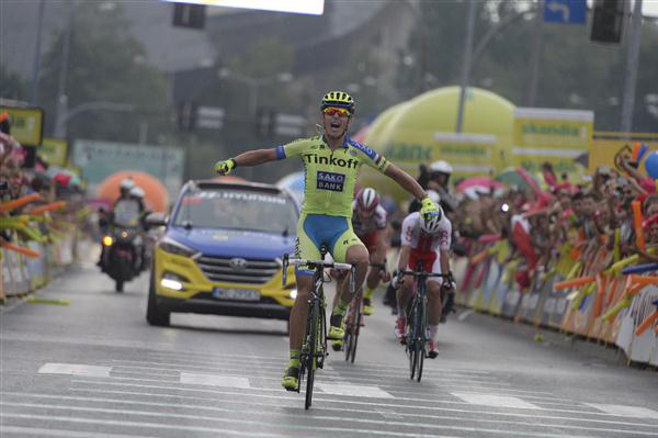 Maciej Bodnar wins Tour of Poland stage 5