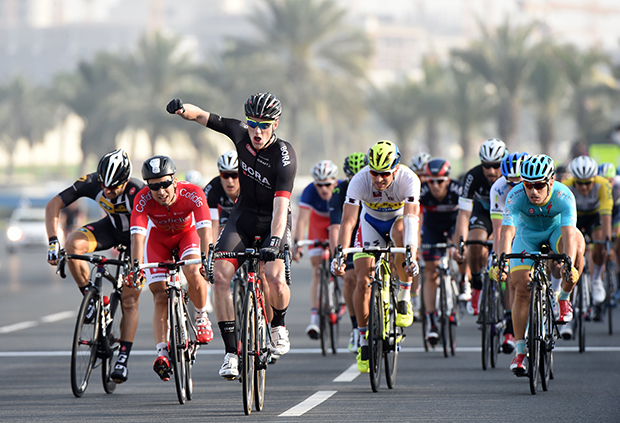 Tour of Qatar stage 6 finish