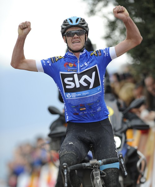 Chrsi Froome wins stage 4