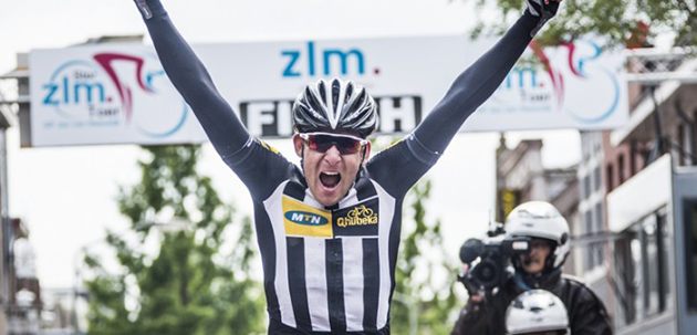 Matt Brammeier wins stage five
