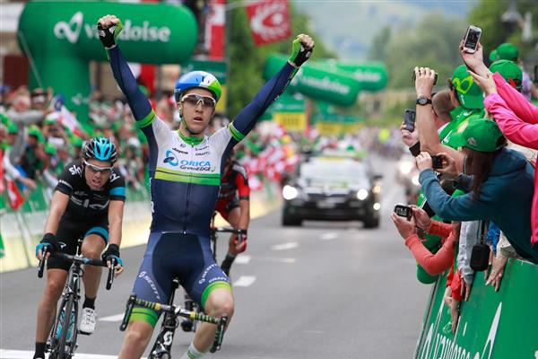 Meyer wins stage two of the Tour of Switzerland