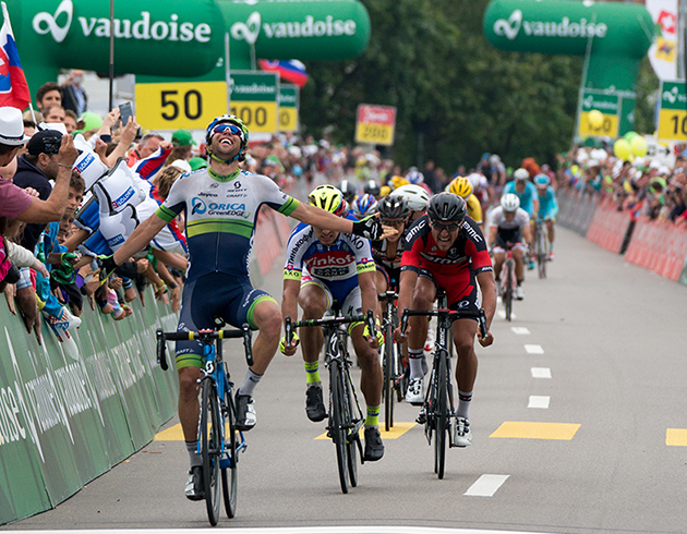 Michael Matthews win Swiss Tour stage 4