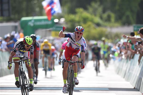 Alexander kristoff wins Swiss Tour stage 7