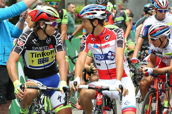 Peter Sagan and Steve Morabito