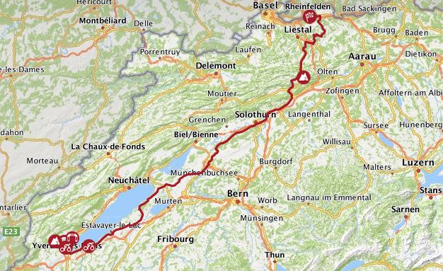 Swiss tour stage 4