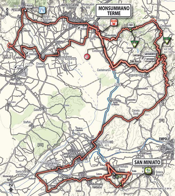 stage 3 route map