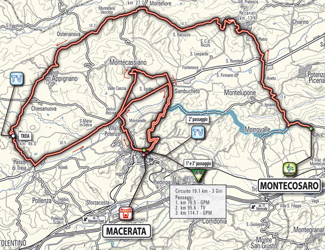 stage 6 route map