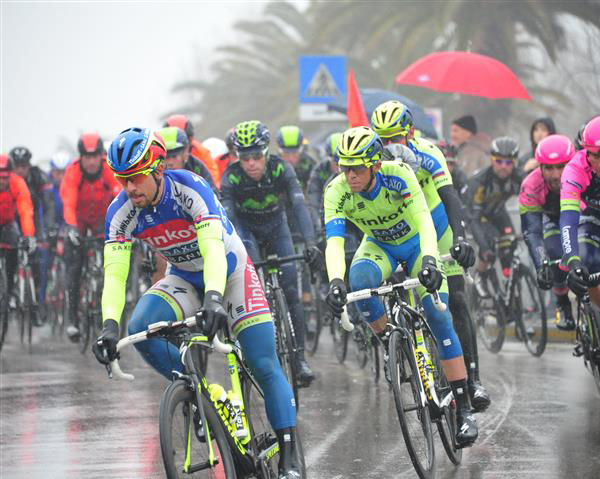 Peter Sagan and Alberto Contador