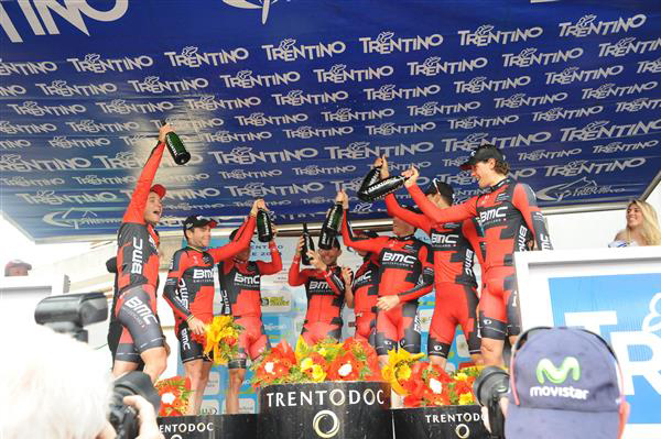BMC enjoys the stage win