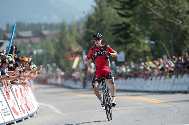 Rohan Dennis wins stage 4