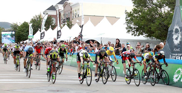 Tour of Utah stage 3 sprint
