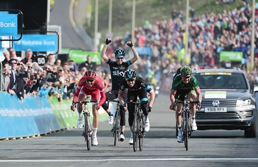 Lars-Petter Norhaug wins Yorkshire stage 1