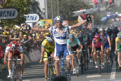 Stage 6 finish