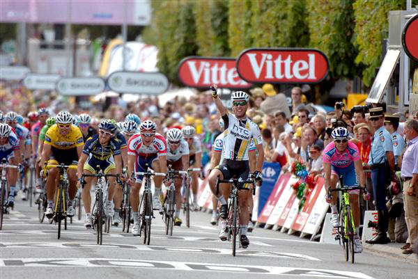 Stage 7 finish