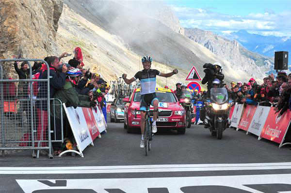 Andy Schleck win on the Galibier in 2011