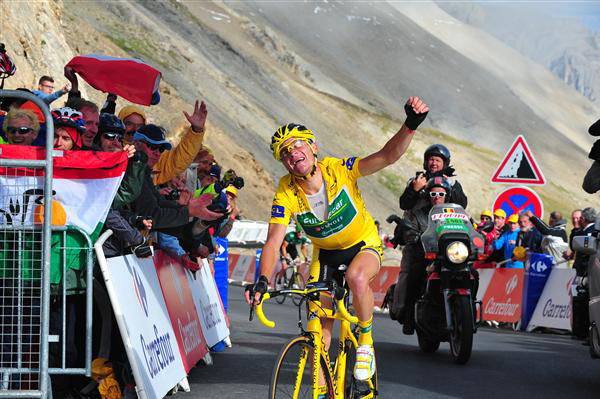 Thomas Voeckler on the Galibier