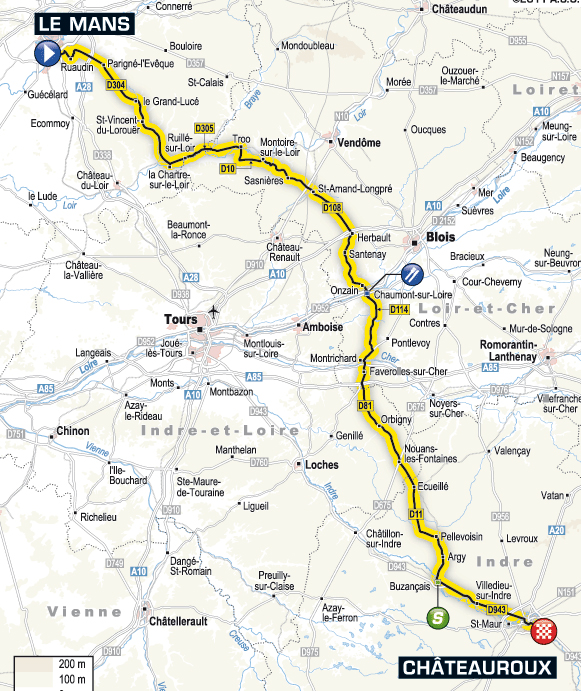 Stage 7 route map