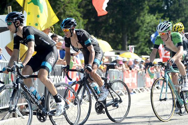 Richie porte and Mikel Nieve