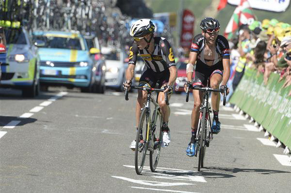 Serge Pauwels and Warren Barguil