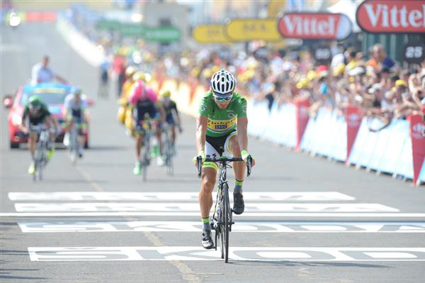 Peter sagan did well today