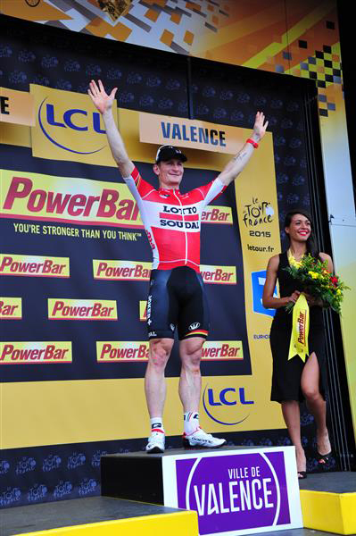 André Greipel has won three Tour stages