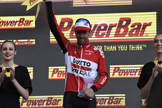 Stage winner Thomas de Gendt
