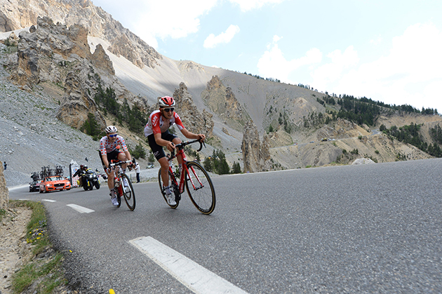 Tim Wellens and Tiejs Benoot