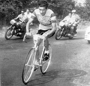Federico Bahamontes ride stage 15 of the 1959 Tour de France