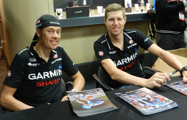 Tom Danielson and Ryder Hesjedal