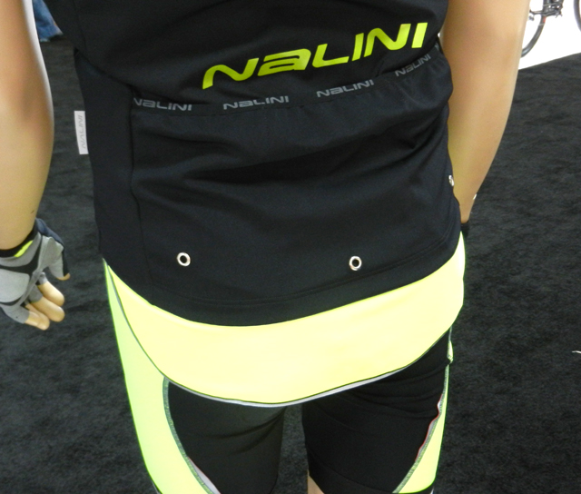Back of Nalini FS jacket