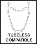 Tubeless cmpatible