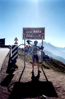 Top of the Paso Sella