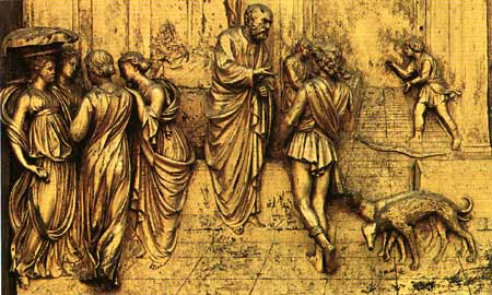 Ghiberti door: detail