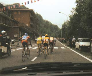 Pantani in stage 18