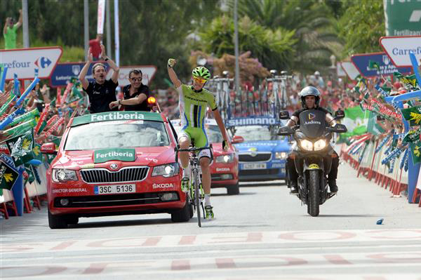 Alessandro DeMarchi wins stage 7