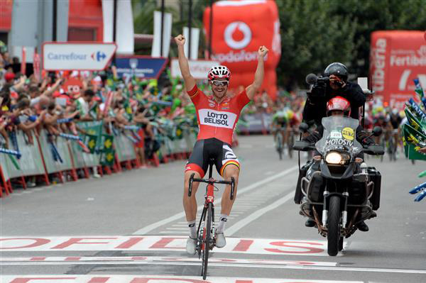 Adam Hansen wins Vuelta stage 19